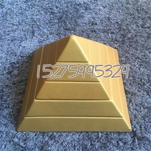 金字塔摆件 高端风水造型摆件大黄金 负离