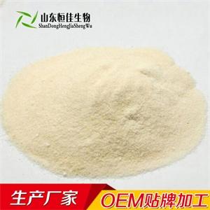 大豆卵磷脂固体饮料oem贴牌代加工山东恒